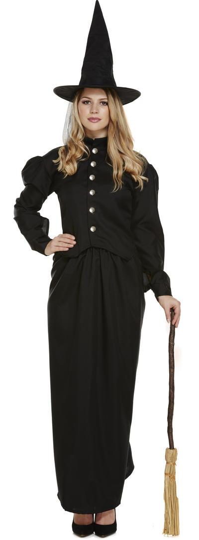 Ladies Classic Witch Costume