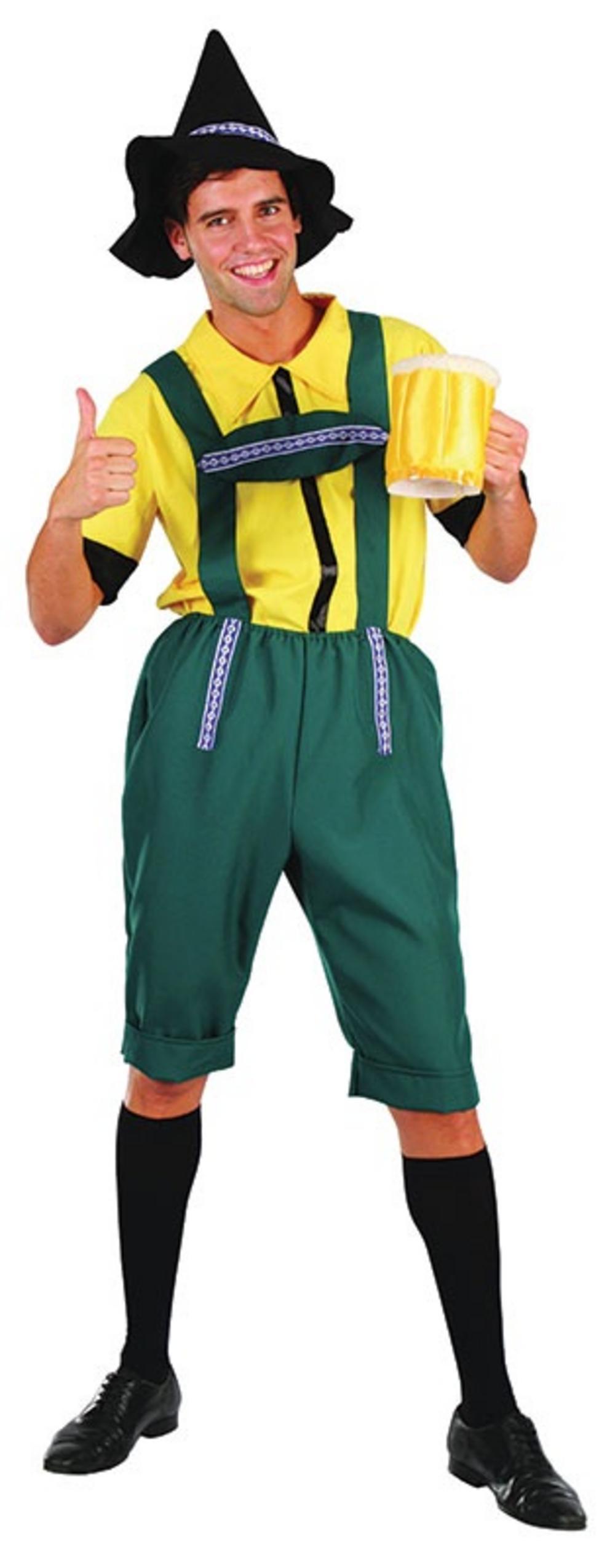 Bavarian Lederhosen Man Costume
