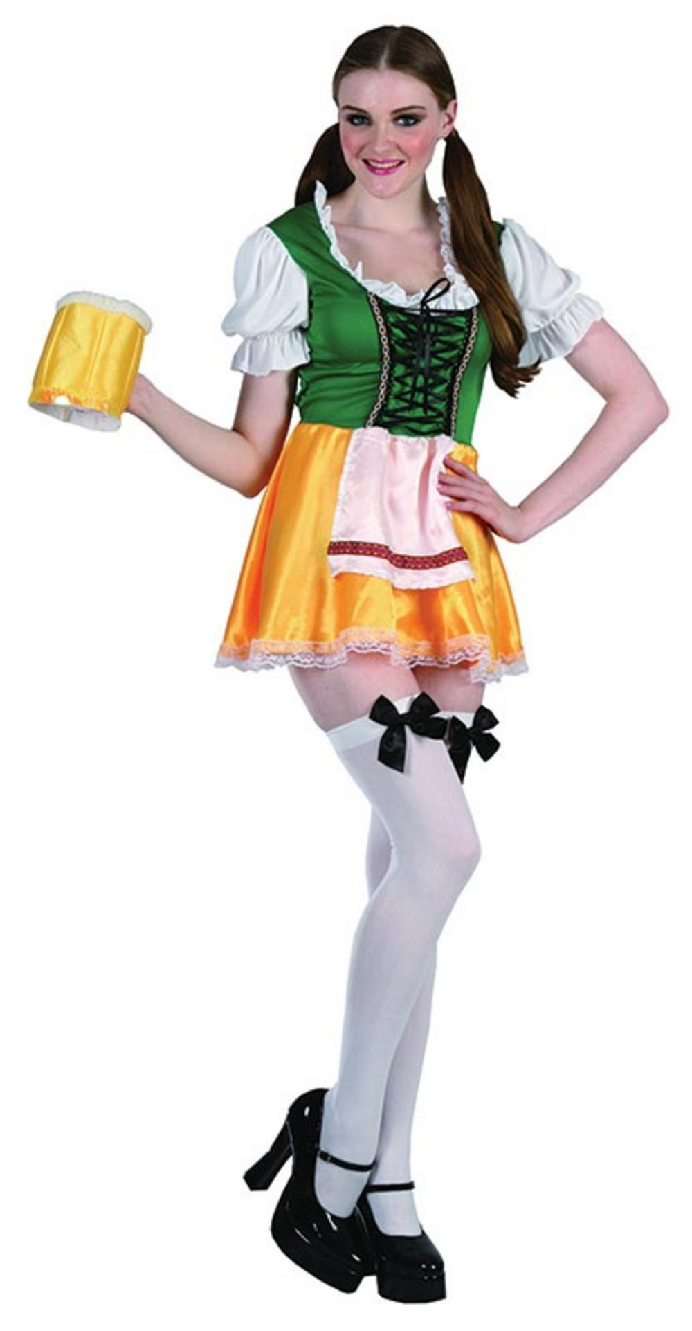 Bavarian Beer Lady Costume