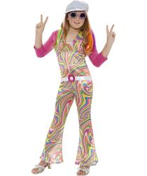 Girls Groovy Glam 60s Girl Costume