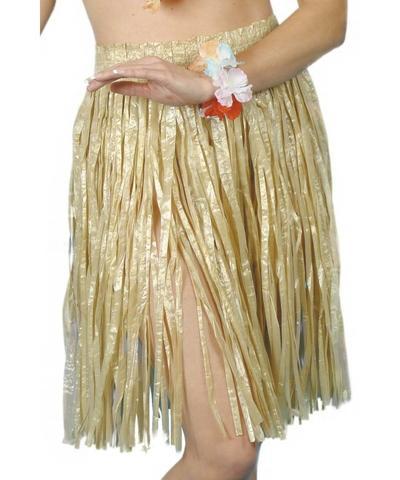 Hawaiian Gold Hula Costume
