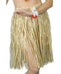 Hawaiian Gold Hula Costume