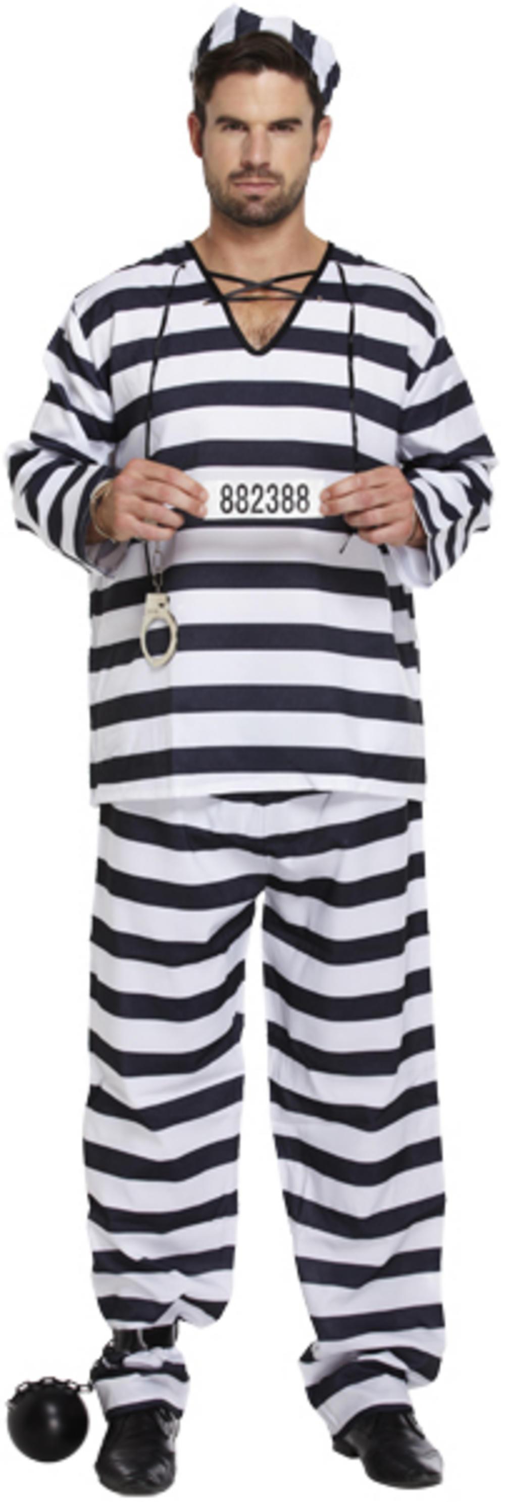 Jail Break Prisoner Costume  sc 1 st  Mega Fancy Dress & Jail Break Prisoner Costume | Stag Party Costumes | Mega Fancy Dress