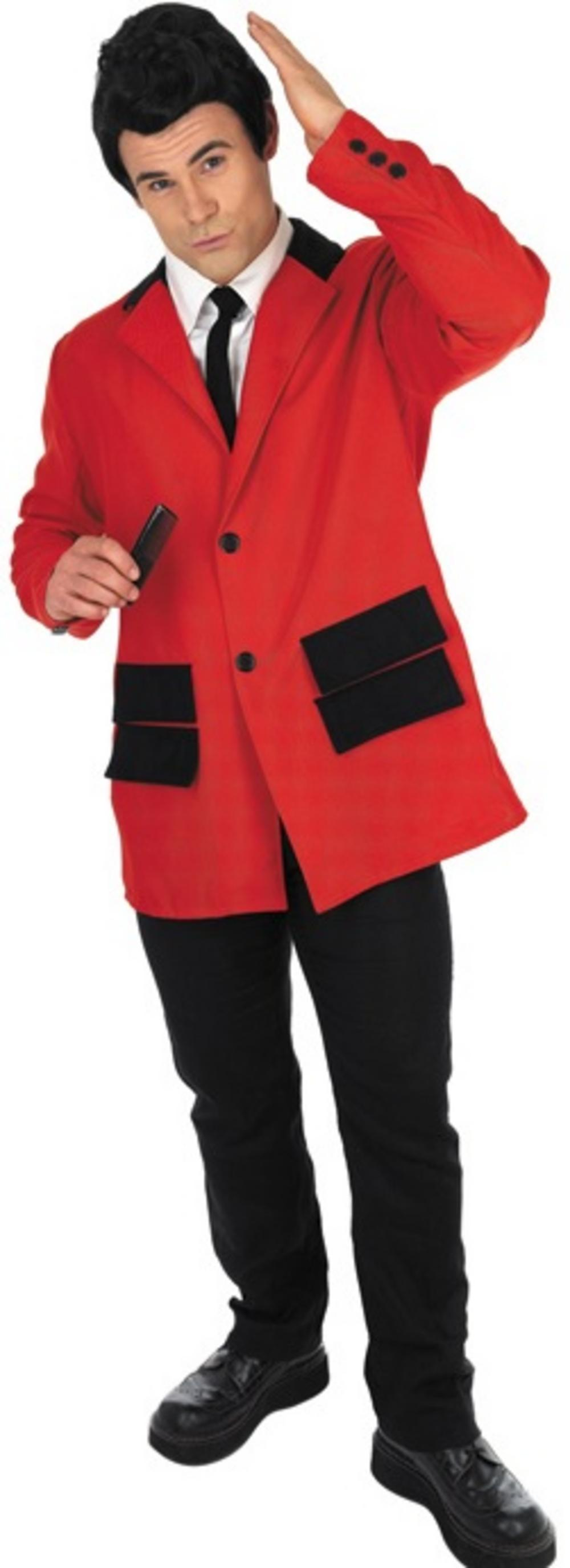 50s Red Teddy Boy Costume