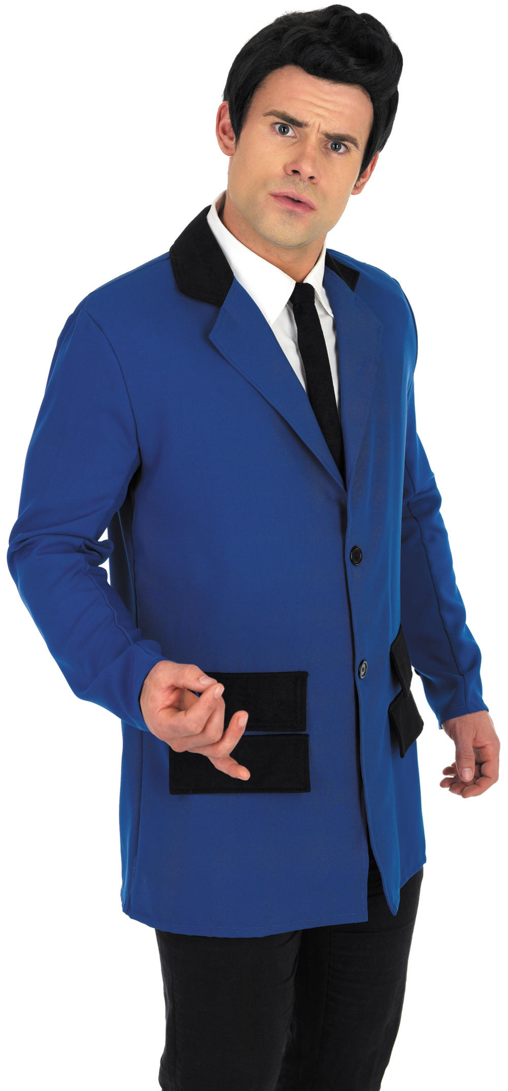 50s Blue Teddy Boy Costume