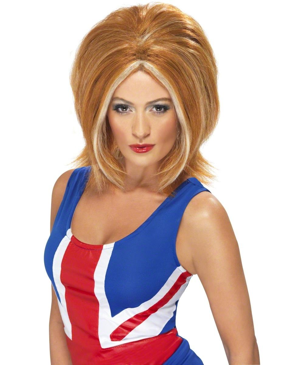 sc 1 st  Mega Fancy Dress & Ginger Spice Wig | Ladiesu0027 Fancy Dress Wigs | Mega Fancy Dress