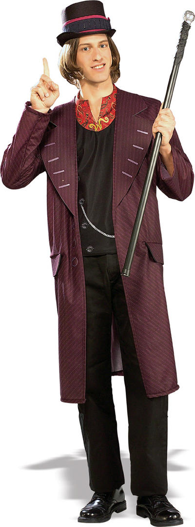 Officially Licensed Willy Wonka Costume