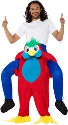 Piggyback Parrot Costume