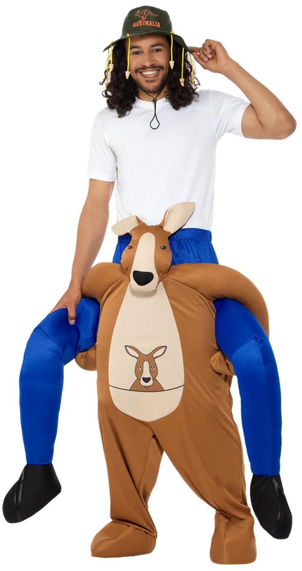 Piggyback Kangaroo Costume