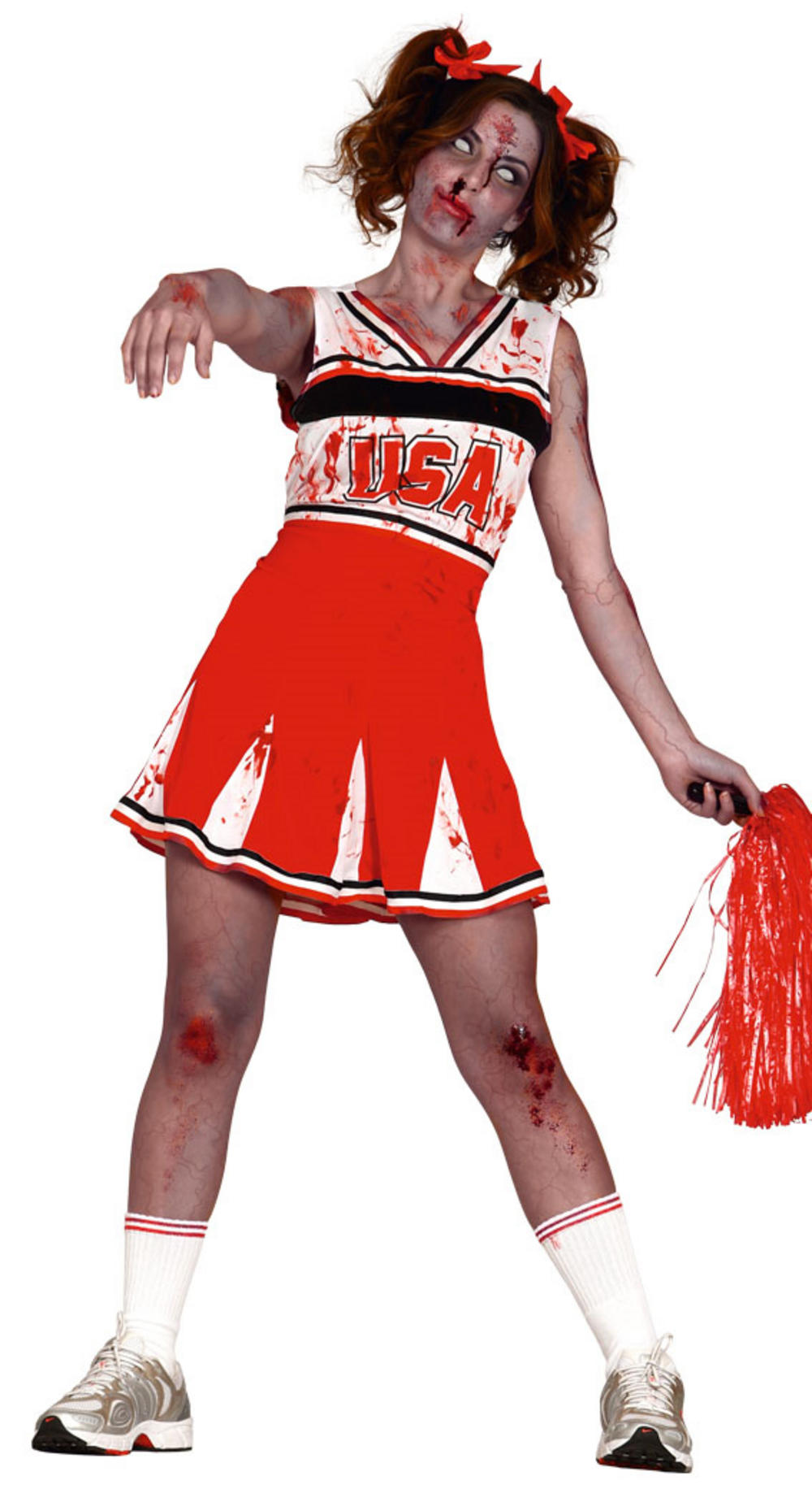 Ladies Zombie Cheerleader