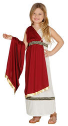 Girls Roman Woman Costume