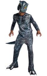 Kids Blue Velociraptor Costume