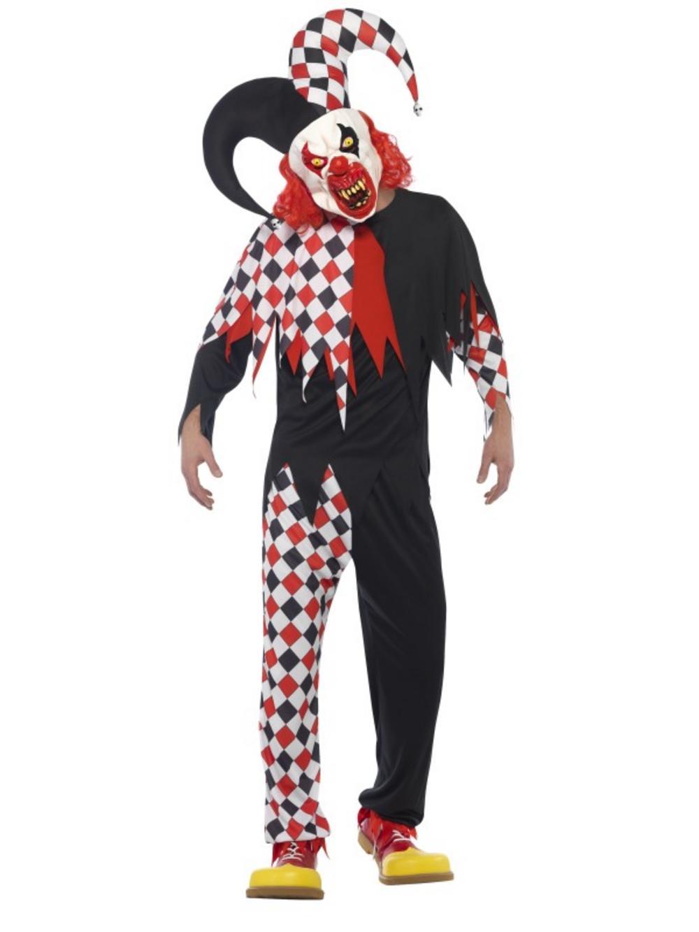 Crazed Jester Costume