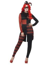Ladies Sinister Jester Costume