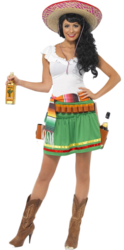 Mexican Tequila Shooter Girl