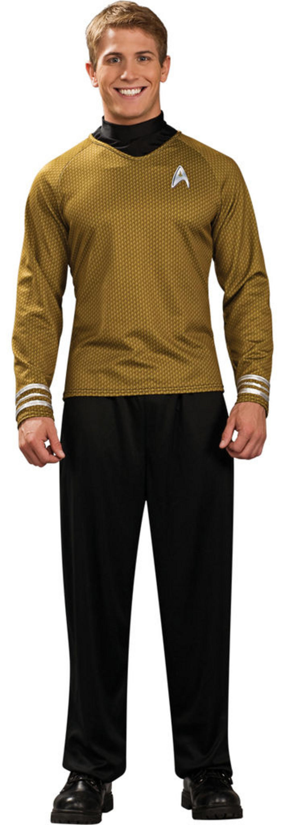 Adults' Gold Star Trek Shirt