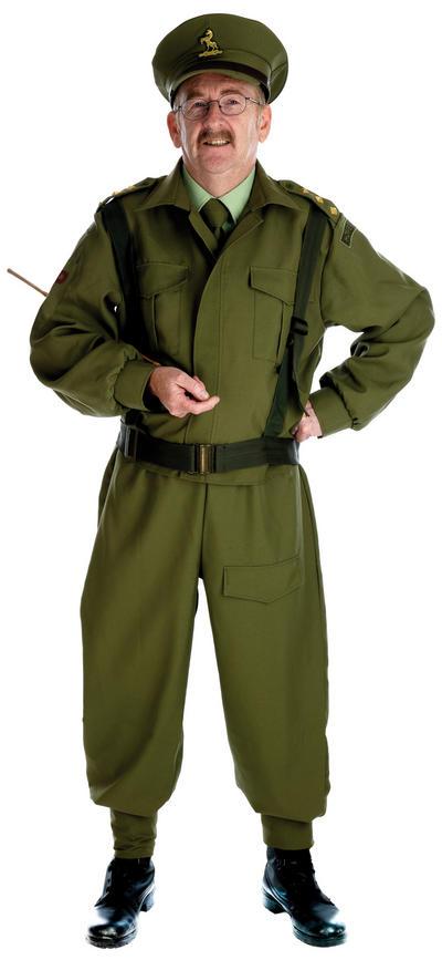 British Homeguard Captain Mainwaring Costume