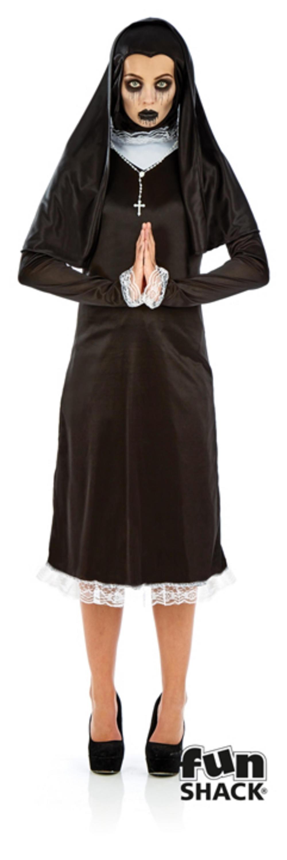 Ladies Gothic Nun Costume