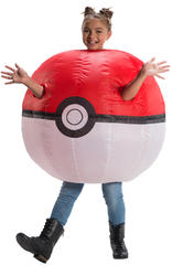 Inflatable Poke Ball Costume