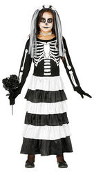 Child Skeleton Girlfriend Costume