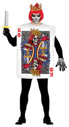 Adult Skull King Card Costume