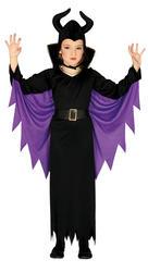 Girls Evil Fairy Costume