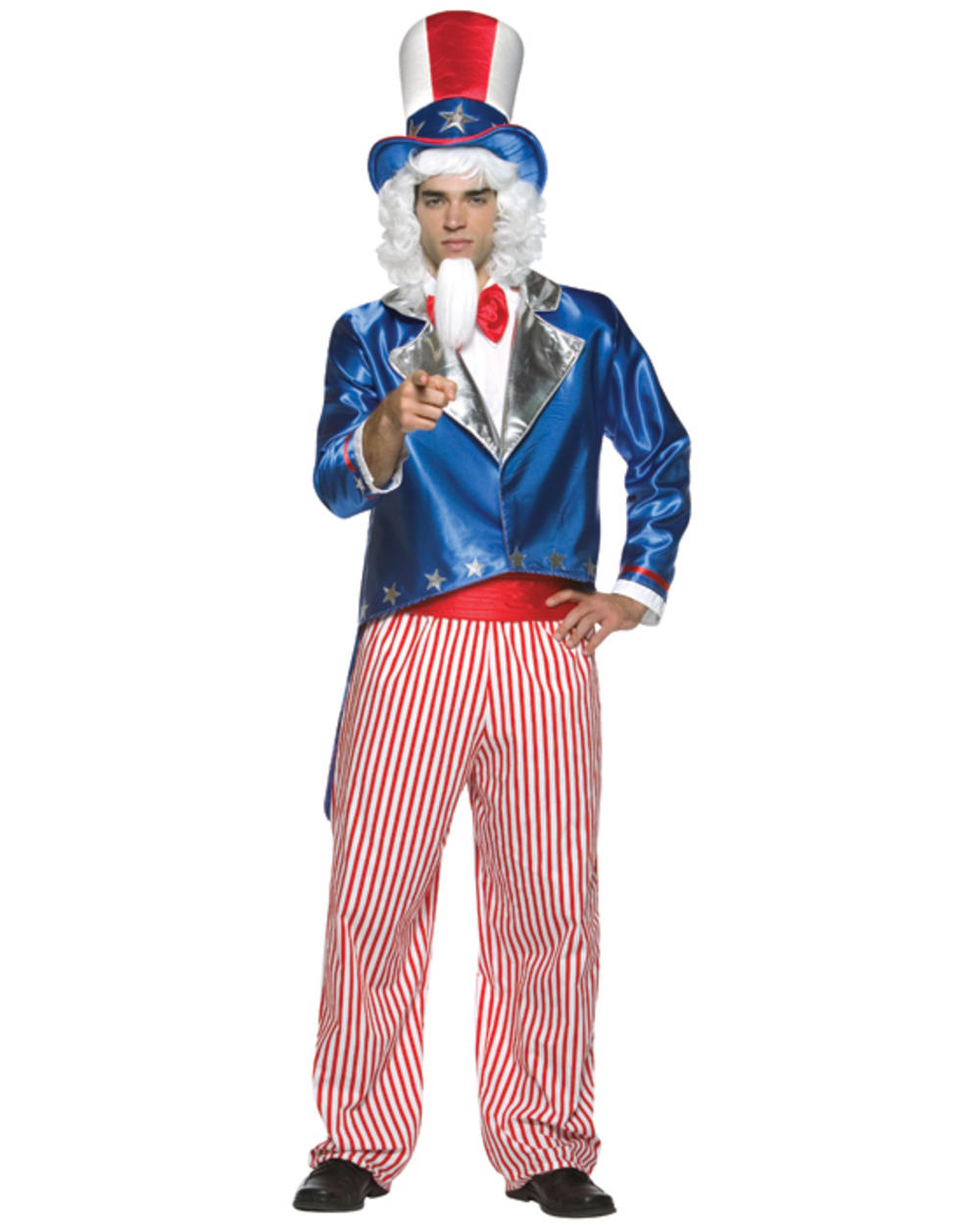 Mens Uncle Sam Costume