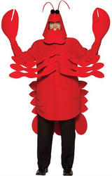 Adult's Light Weight Lobster Costume