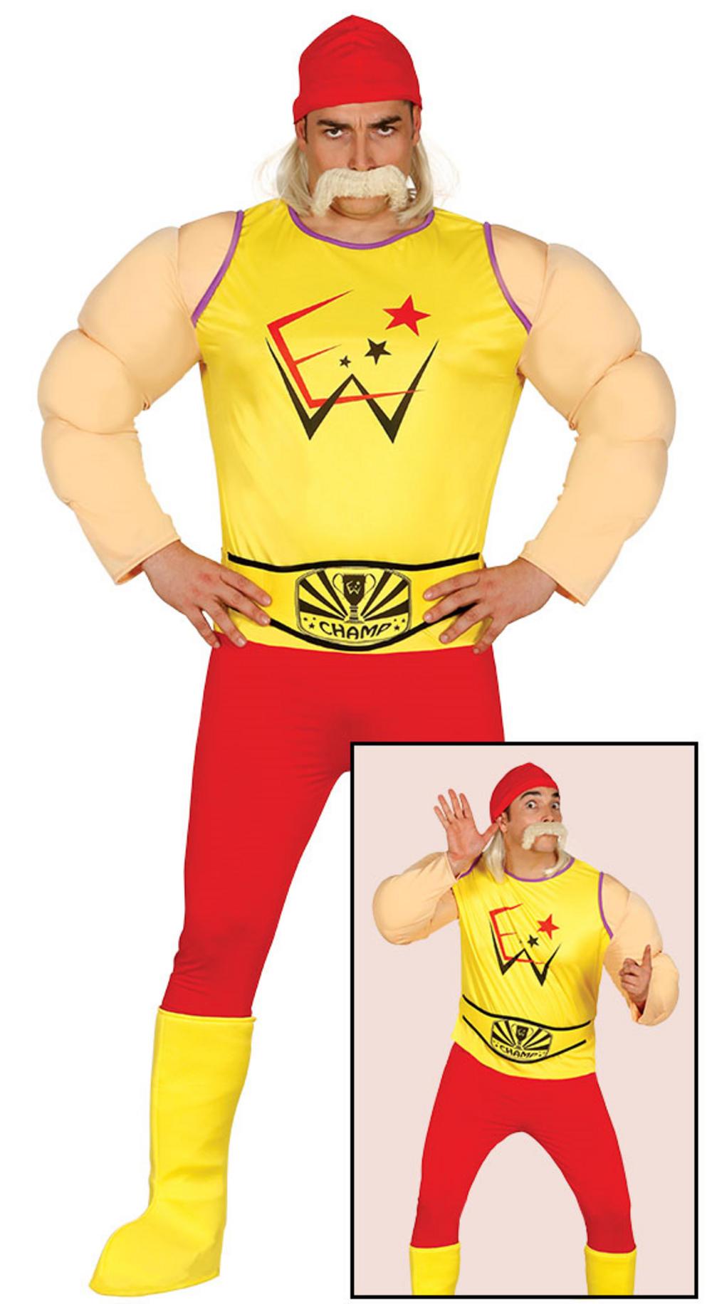 Adult Wrestler Costume