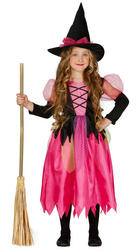 Girls Shiny Witch Costume
