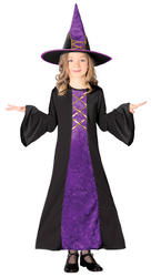 Girls Velvet Witch Costume