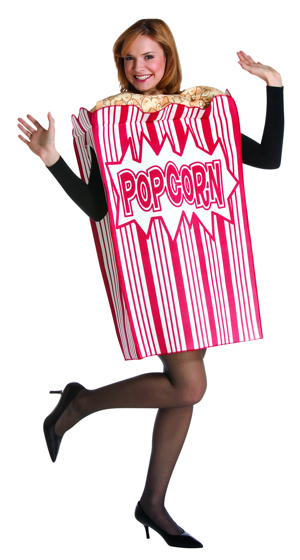 Movie Night Popcorn Costume