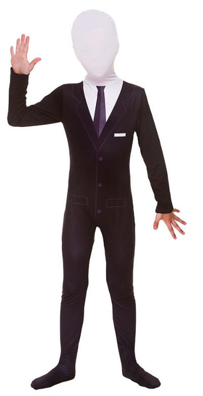 Kids Slenderman Skinz Costume