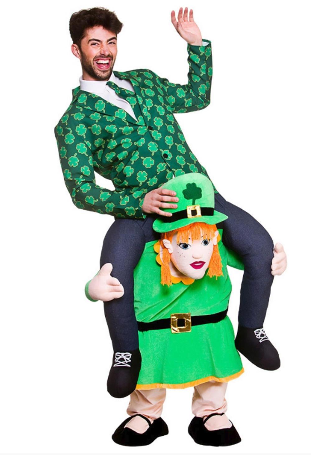 Carry Me Leprechaun Lass Costume