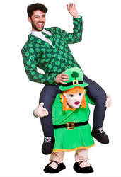 Carry Me Leprechaun Lass Costume
