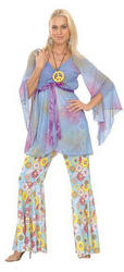 Groovy Hippy Lady Costume