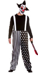 Sinister Clown Mens Costume