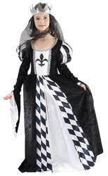 Girls Chess Queen Costume