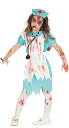 Zombie Nurse Girls Costume