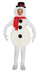 Kids Snowman Fancy Dress Costume