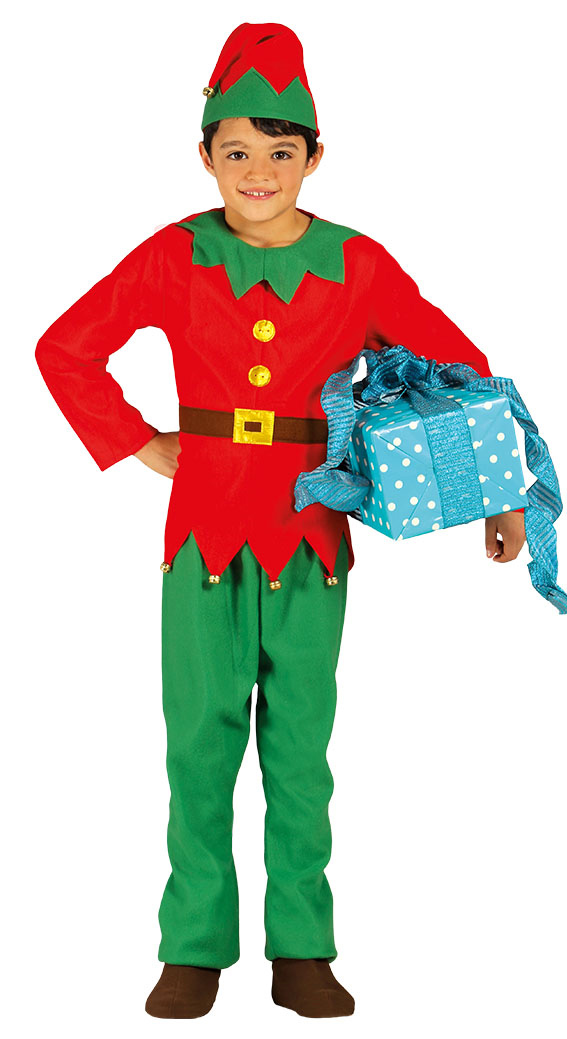 4bf588030 Boys Elf Costume | TV, Book and Film Costumes | Mega Fancy Dress