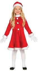 Girls Santa Fancy Dress