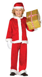 Boys Father Christmas Costume