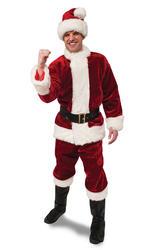 Deluxe Crimson Premier Santa