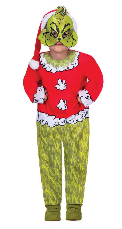 The Grinch Kids Costume