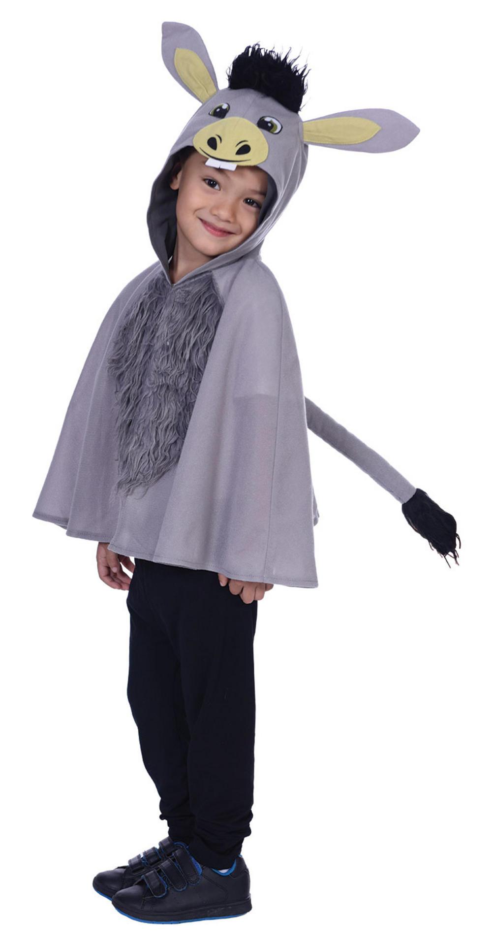 Donkey Cape Kids Costume