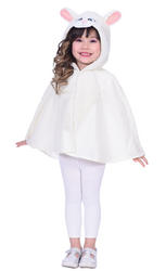 Sheep Cape Kids Costume