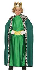 Green Wise Man Boys Costume