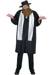 Jewish Rabbi Mens Costume