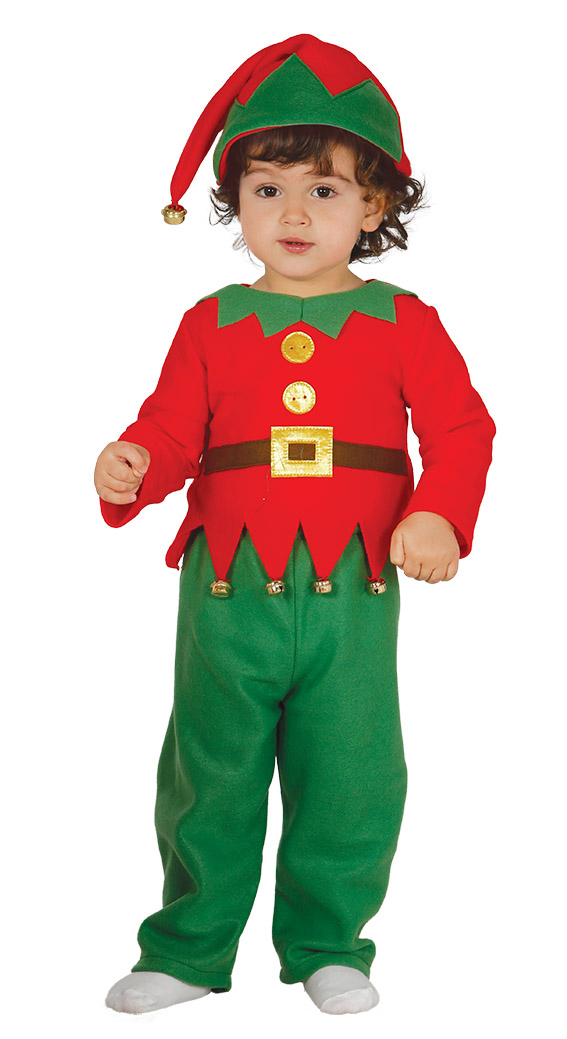 Christmas Babies Fancy Dress Angel Elf Santa Festive Xmas Kids Toddlers Costumes